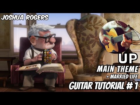 UP -  Married Life | Acoustic Guitar Tutorial#1 (of 3) | NBN Guitar