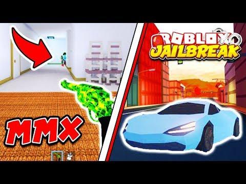 Roblox JAILBREAK and MURDER MYSTERY X LIVE!! New MMX Update! | 🔴 Roblox Live