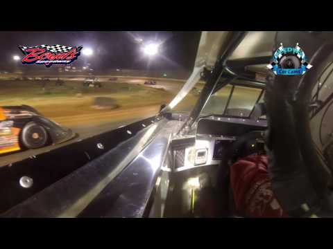 #A11 Todd Morrow - Crate Late Model - 3-31-17 Boyd's Speedway - In-Car Camera