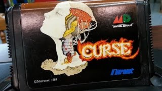 Classic Game Room - CURSE review for Sega Mega Drive