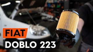Como e quando mudar Óleo motor gasolina e diesel FIAT DOBLO Cargo (223): vídeo tutorial