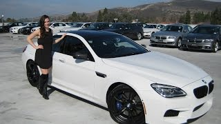 New BMW M6 Gran Coupe M Performance Exhaust Sound / Competition Package / BMW Review