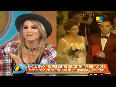 Cinthia Fernández habló de una zona de exclusión para su suegra