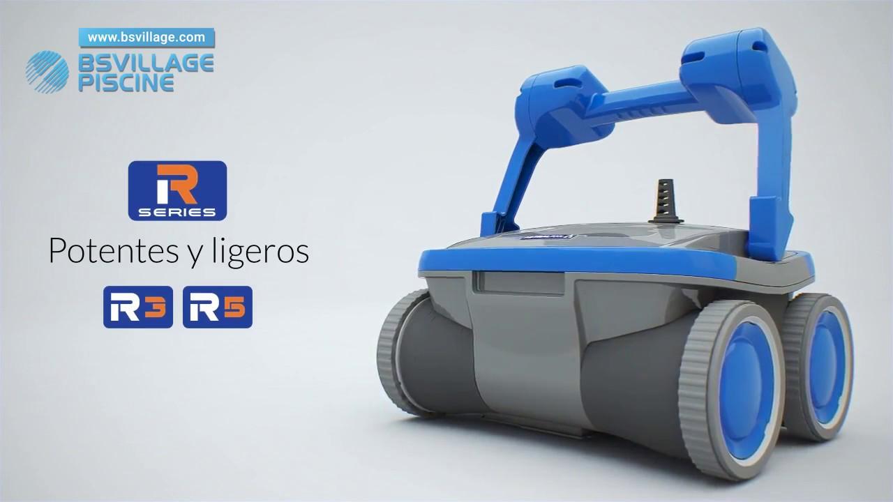Robot per piscina r5 4wd gyro astralpool youtube - Robot para piscinas ...