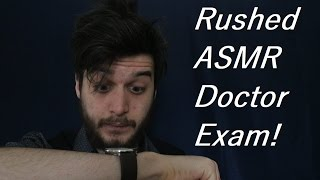 FASTEST AND WORST CRANIAL NERVE EXAM ASMR ROLE PLAY (Funny asmr role play)