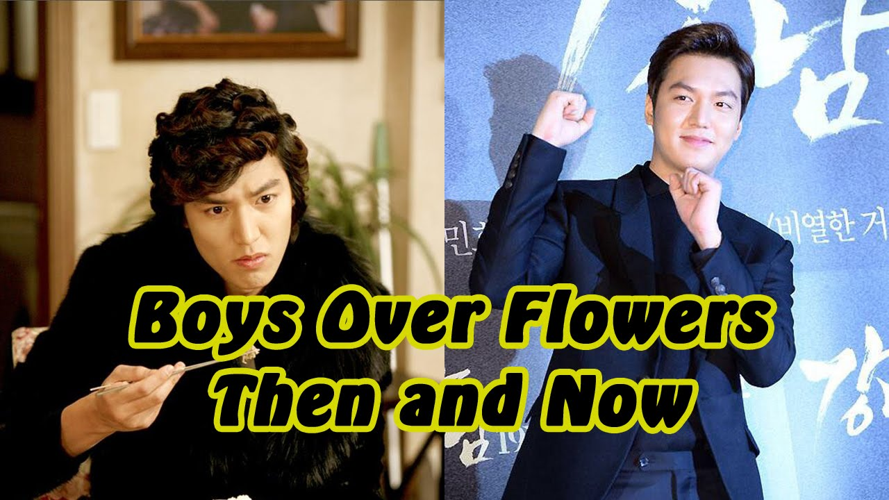 Boys Over Flowers - Then a Now | Doovi