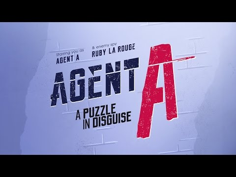 Agent A: A puzzle in disguise (by Yak & Co) - Universal - HD Gameplay Trailer