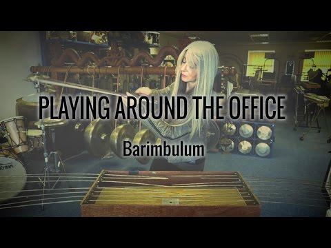 Evelyn Glennie | Playing Around The Office | Part 3 – Barimbulum