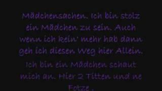 Lumaraa - Mädchensachen with lyrics .