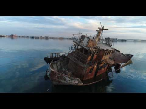 The Wreckedship - Doha Port - KUWAIT