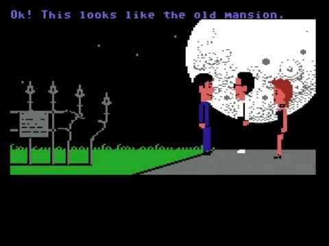Commodore 64 - Maniac Mansion (ScummVM Playthrough)