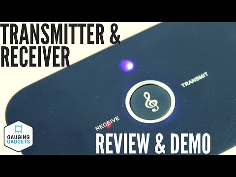 Bluetooth 4.1 Transmitter And Receiver Review And How-to Setup