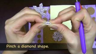 Learn to Make a Quilled Snowflake Ornament - Quilled Creations