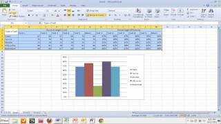 Copying tables and graphs from Excel to Word