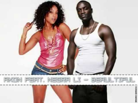 musica beautiful akon e negra li