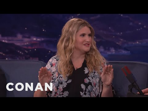 Jillian Bell's Mortifying Justin Timberlake Encounter At SNL   CONAN on TBS
