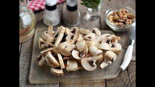 Салат с Грибами и Грецкими Орехами!Невероятно вкусный, полюбите, как только попробуете!!!84