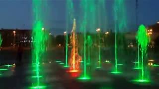 Поющие фонтаны в Тосно