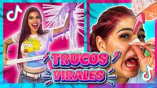 PROBANDO TRUCOS VIRALES de TIKTOK  - LIFE HACKS Y TIPS!