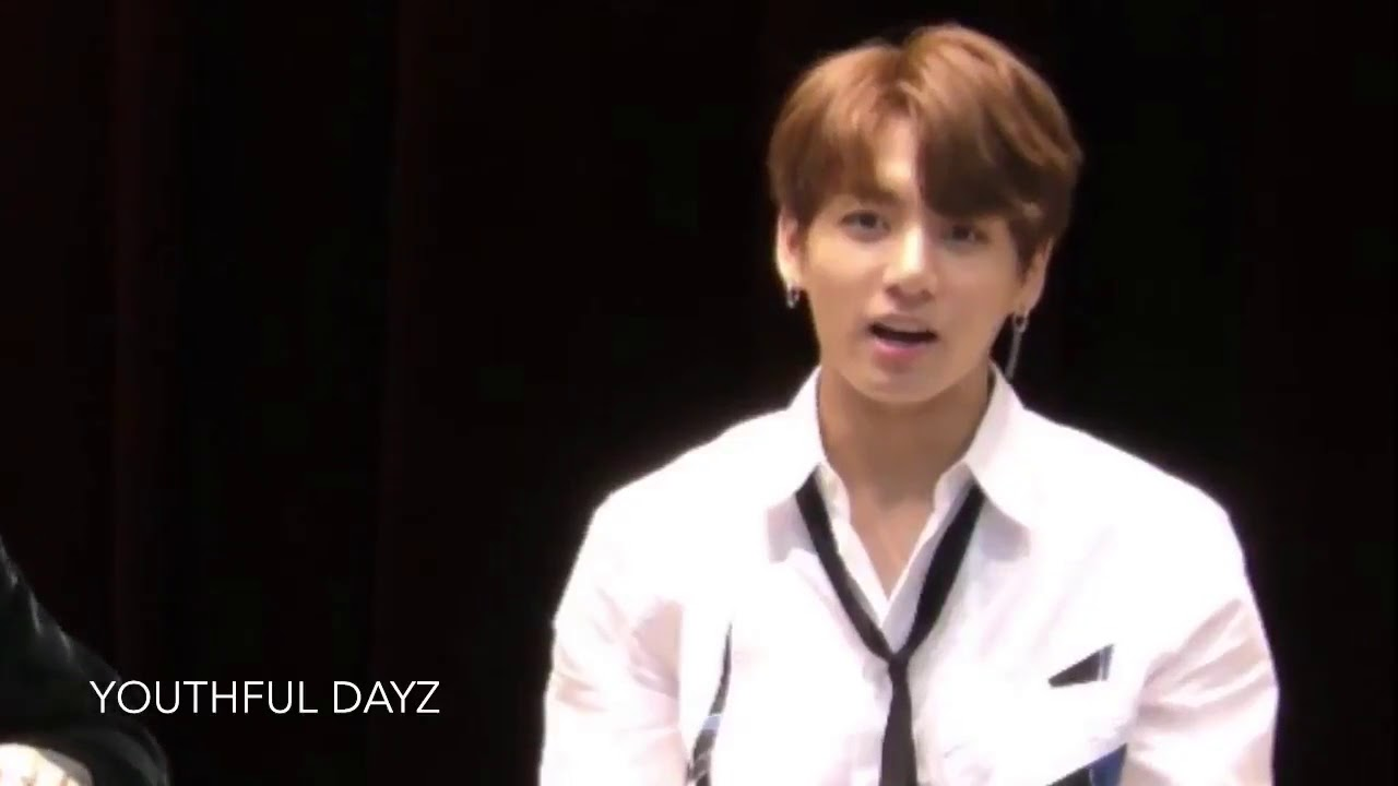 A Fan Called Jungkook 'Oppa' His Reaction Was Priceless