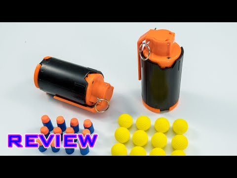 [REVIEW] NERF GRENADE!? LOLWUT!