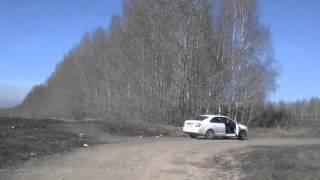 Выезд с участка Столбище. Казань