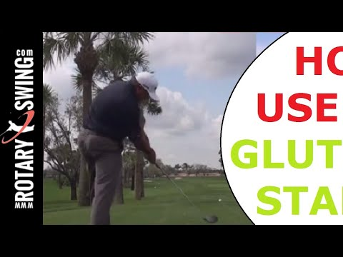 Angel Cabrera and Natalie Gulbis  Glutes for Stability