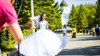 Подготовка к свадьбе Евгения Пяткова и Марины Бендик  (Омск) 15.08.2015 г.