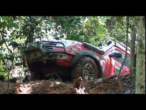 Big Ford Trucks >> Borneo Equator Expedition 2009 - YouTube