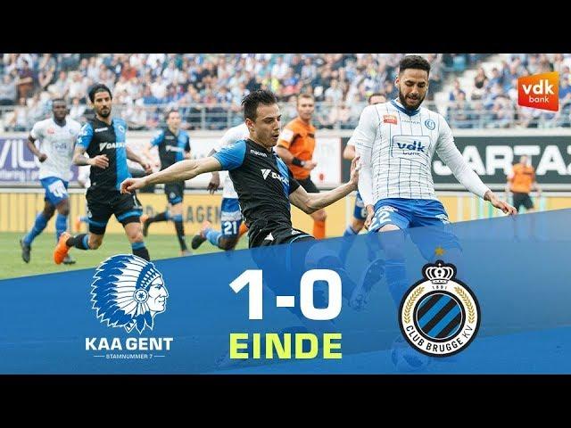 🎬KAA Gent - Club Brugge (1-0)