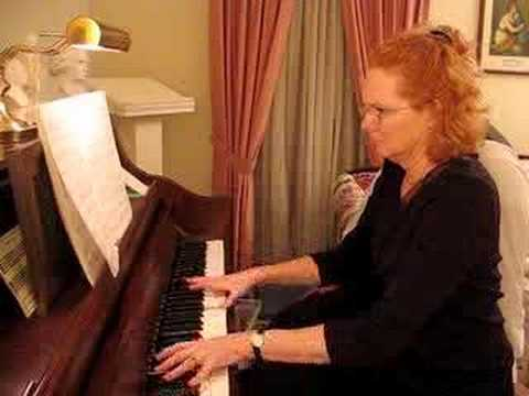 Janet Plays The Music Room