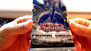YuGiOh Primal Origin Boosters Opening!