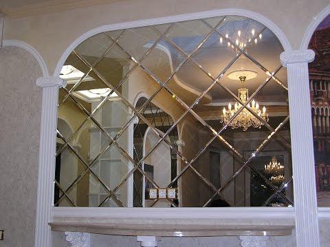 Изготовление зеркальной плитки в домашних условиях