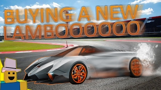 Vehicle Simulator | Buying a $200,000 Lamborghini in ROBLOX