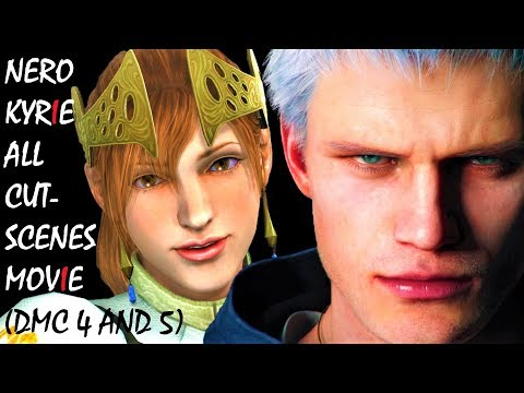 Devil May Cry All Nero & Kyrie Love Story Cutscenes Movie (DMC 5) thumbnail