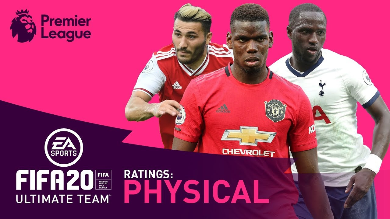STRONGEST Premier League Player? | FIFA 20 | Pogba, Kolasinac, Sissoko | AD