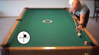 Pool drill for practicing getting center-of-table position off hangers, from VEPP II (NV C.7)