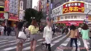 Japan Trip 2014 Tokyo Cycling, Shinjuku MOA 2rd st to Central-road