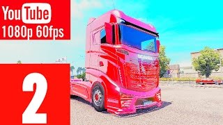 EURO TRUCK SIMULATOR 2 - WALKTHROUGH - PART 2: VENEZIA-MILANO - NO COMMENTARY PLAYTHROUGH