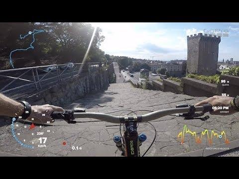 YT CAPRA - GOPRO Hero 5 Black TELEMETRY GPS TEST - URBAN FREERIDE