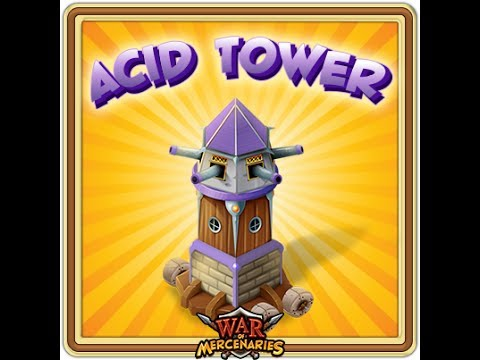كيف تهجم ببرج الحمض acid tower ( حرب المرتزقة War of Mercenaries)