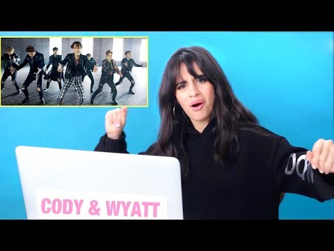 CAMILA CABELLO REACTS TO K-POP