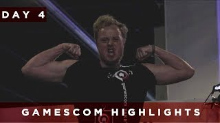 gamescom 2017 | Day 4 Highlights | TaKeTV