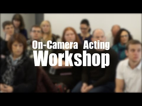 On-Camera Acting Workshop - Saturday, 9/26/2015