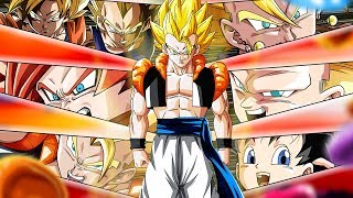THE ULTIMATE LR SUPER GOGETA FUSION TEAM SHOWCASE! Dragon Ball Z Dokkan Battle