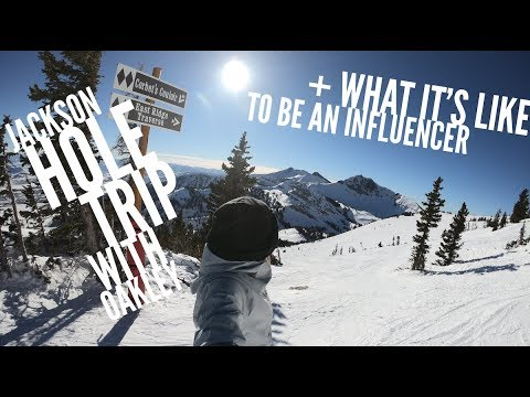 Jackson Hole trip with Oakley + what it's like to be a social media influencer