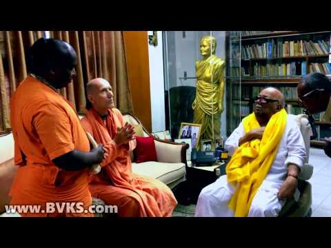 Conversation with Karunanidhi
