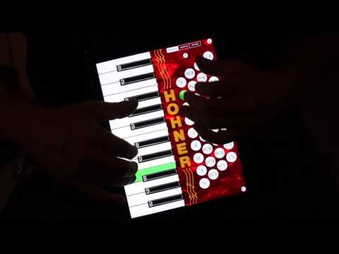 Hohner Piano SqueezeBox for iPad