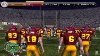 NCAA Football 08 PS2 Gameplay HD