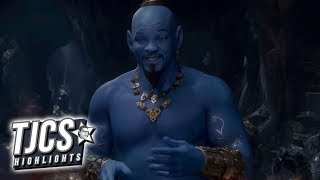 New Aladdin Spot Gives First Look At Will Smith's Genie